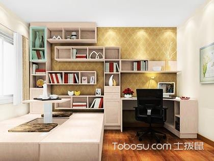 日式书房榻榻米装修效果图,兼具实用与美观的设计!