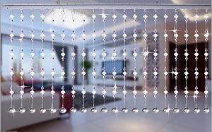 【水晶门帘】水晶门帘安装方法,水晶门帘风水作用,价格,效果图