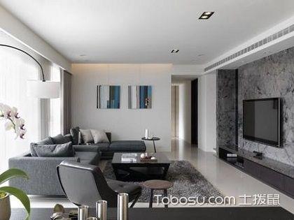 88平三室二厅装修,时尚不失大气的简约风范