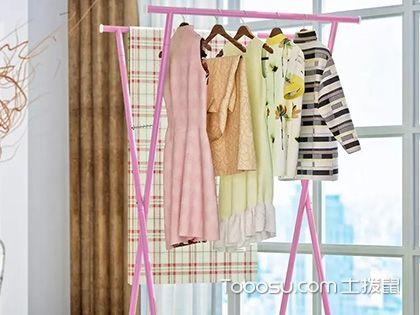 折叠式挂衣架效果图,节省空间的万能小家具!