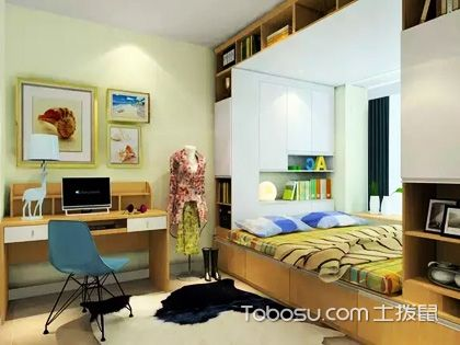 卧室书房设计案例,一房多用那都不是事!