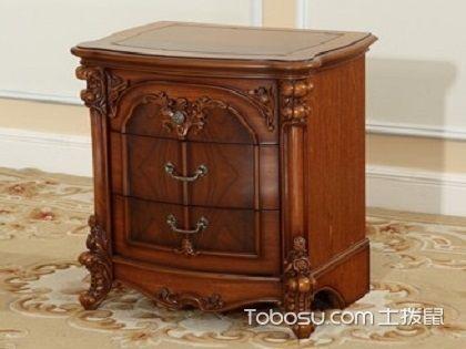 实木床头柜,打造温馨卧室少不了它!