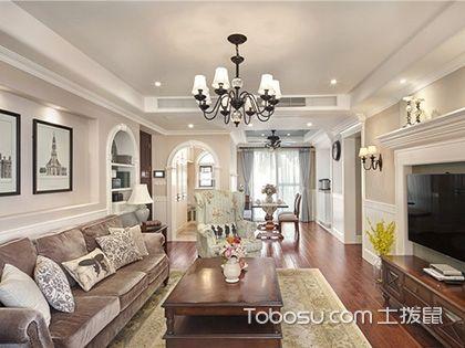 95㎡现代简约两居室装修案例,小客厅也能有好设计!_施工流程