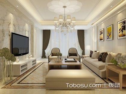 130平米三居室装修图,让你体验家的温馨