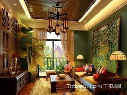 东南亚风格装修案例,演绎富丽堂皇的异域风情