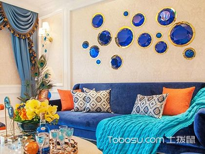 109平美式风格装修样板间,打造一个永恒的爱之家