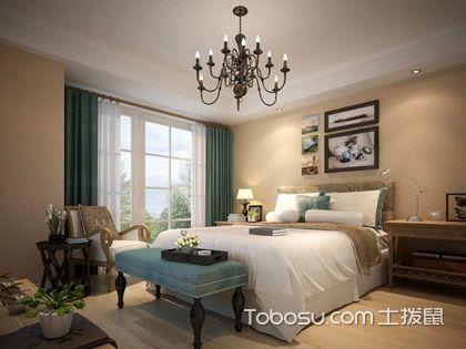 美式风格卧室效果图,带你感受卧室中的休闲式浪漫!