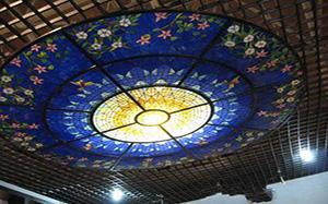 【玻璃吊顶】玻璃吊顶材料,玻璃吊顶价格,施工工艺,效果图