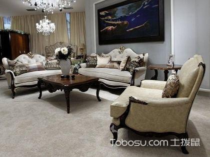 新古典风格家具的搭配,装出好家的重要一步