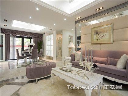 两室两厅欧式装修案例,领略神秘浪漫的欧式风情