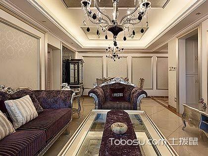 130平新古典风格装修案例,细腻的生活品质
