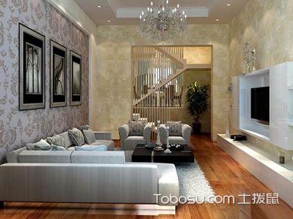 新古典风格壁纸装饰,彰显低调华丽的生活态度