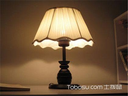 床头柜台灯的安装注意事项,教你选购到真正实用的台灯