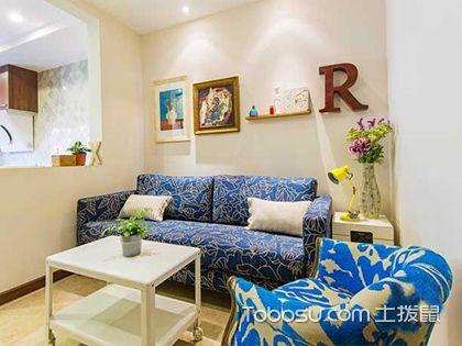 59平美式风格一居室,单身白领的首选