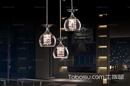 餐桌吊灯安装高度,离地面最少为2.2cm