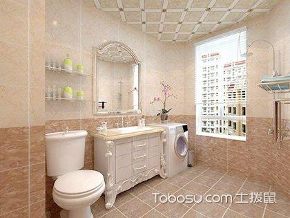 巧用卫生间地板砖贴图,打造创意时尚卫浴间