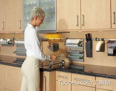 厨房设计重视人体尺度 日常烹饪更舒适