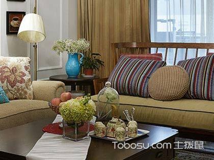 140平方四室两厅装修案例,配色超棒的美式设计