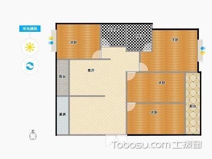 四室一廳戶型圖,最受歡迎的都在這里了