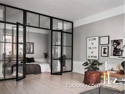 """客厅玻璃隔断怎么样?通透设计弥补""""小""""空间"""