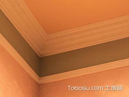 双层石膏线的最佳尺寸,打造华丽大气的室内环境