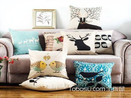 沙发靠垫图片大全,客厅中一抹别样的风采!