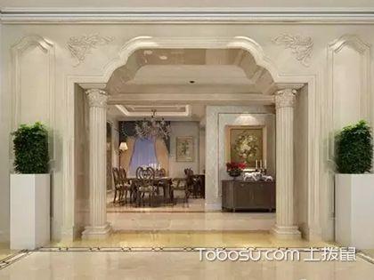 罗马柱图片欣赏,家装用罗马柱美观又大气