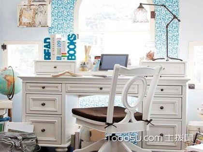 美式儿童书桌效果图,营造轻松舒适的学习氛围!