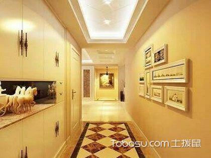 走廊吊顶设计,不同造型打造不同意境!