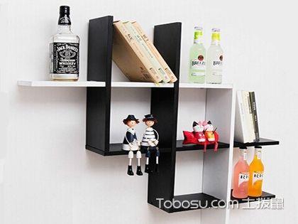 墙上简易书架图片欣赏,家里这样装又会多出一处景!