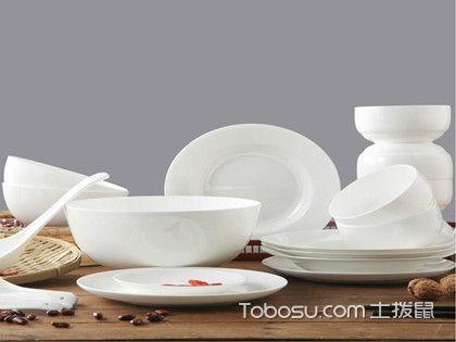 陶瓷餐具上的污渍怎么清洗?方法很简单