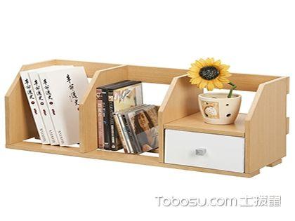 桌面简易书架,小空间也有大花样
