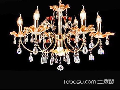 """蜡烛水晶灯,水晶灯里的""""邻家女孩"""""""