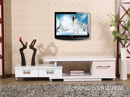 客厅电视柜一般尺寸,高度在400-600mm之间