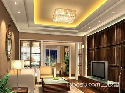 客厅灯池设计, 整体风格需保持一致
