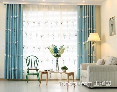 客厅窗帘颜色搭配,有4大参照物哦!