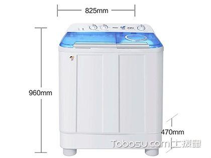 半自动洗衣机,简便家电新时代