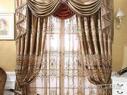 歐式窗簾的做法,心中有底手生巧