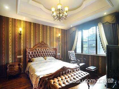 歐式臥室窗簾圖片,極具奢華唯我歐式