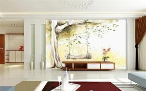 【无纺布壁画】无纺布壁画材料特点,无纺布壁画价格,粘贴方法,效果图