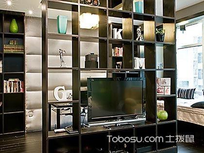 电视隔断柜巧妙设计,挑战小户型的收纳极限