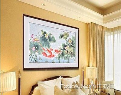 卧室挂什么字画好?各房有各房的选择!