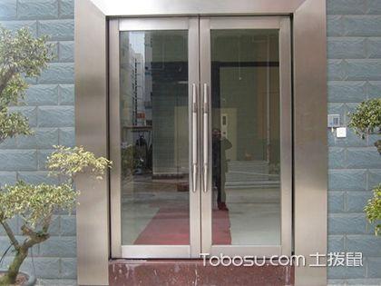 不銹鋼玻璃門,給你一個通透外景