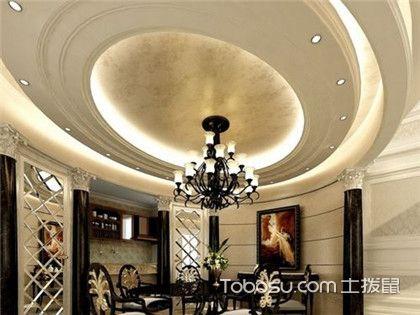 简欧餐厅吊顶欣赏,打造完美用餐空间