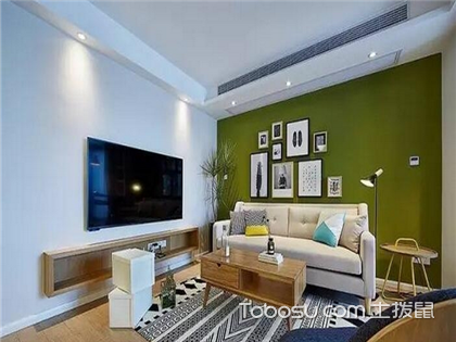 92平米三室装修效果图,6万预算轻松装好家