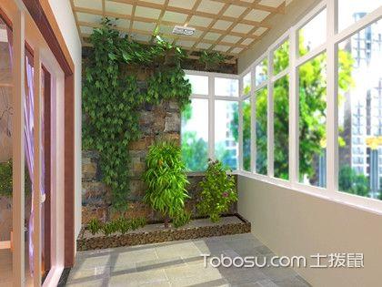 内阳台和外阳台的区别,主要就在于面积