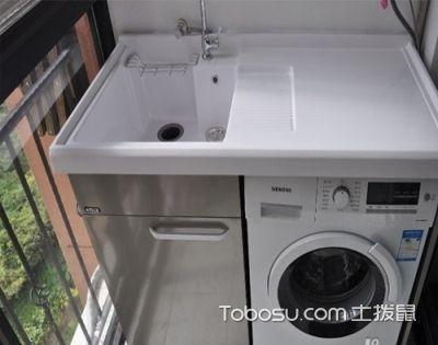 阳台整体洗衣柜设计,轻松提高洗衣效率!