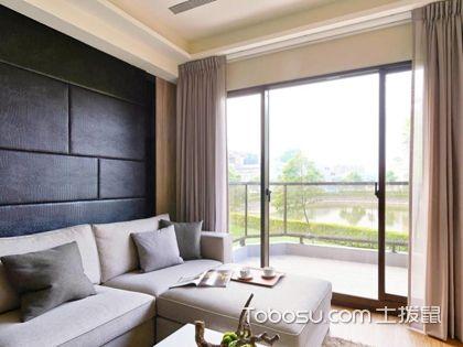 客厅连阳台窗帘怎么挂?这4种套路很好用