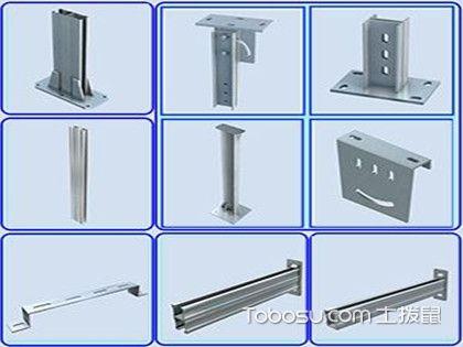 金属线槽吊顶支架的安装和计算方法