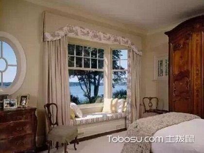 飘窗窗帘怎么装好看,受多种因素影响